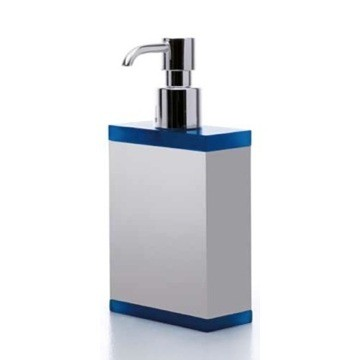 TOSCANALUCE A063 GALLERY RECTANGULAR PLEXIGLASS SOAP DISPENSER