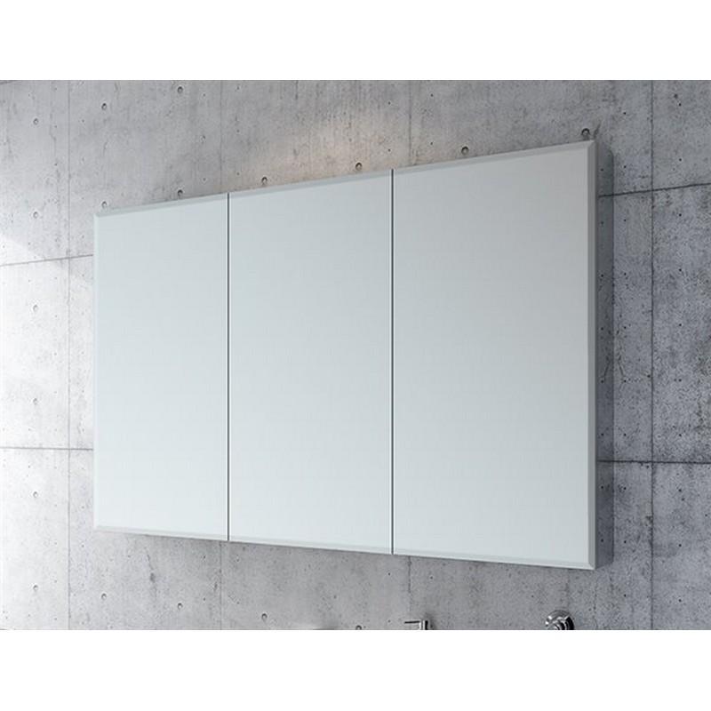 Fleurco Mct3630b 11 Tri View 36 X 30 Inch Beveled Edge Medicine Cabinet In Chrome