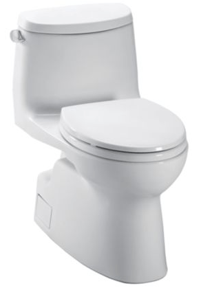 Toto Cst614cefgt20 01 Carlyle Ii One Piece Toilet 1 28