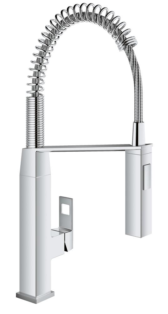 GROHE 31401 EUROCUBE SINGLE-HANDLE KITCHEN FAUCET