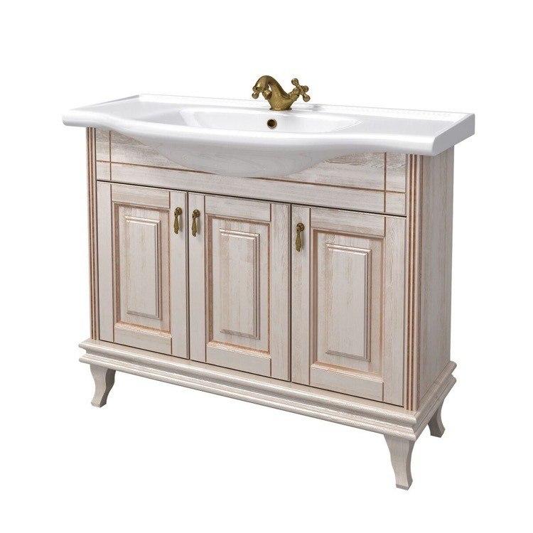 Nameeks Bt F01 Beatrice 39 Inch Vanilla Vanity Cabinet With Ed Sink Btf01