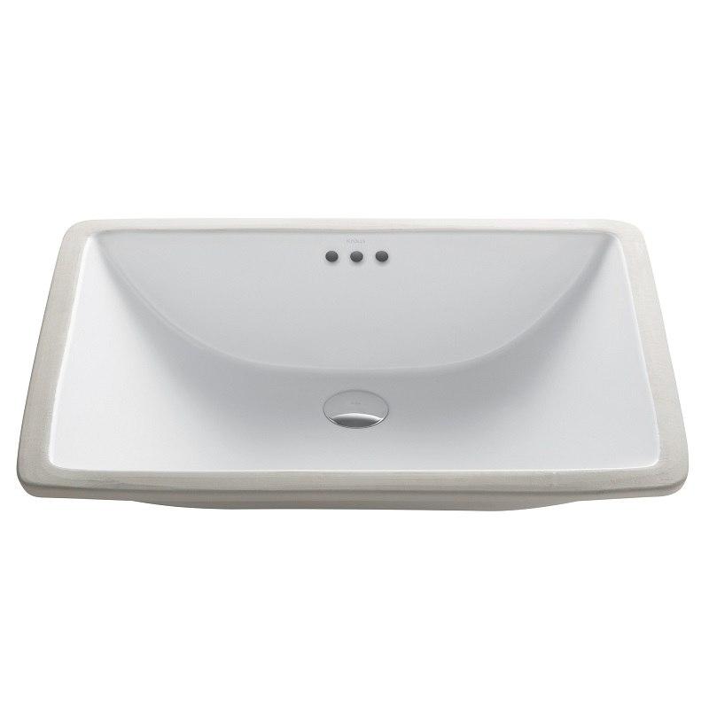 Kraus Kcu 251 Elavo White Ceramic Large