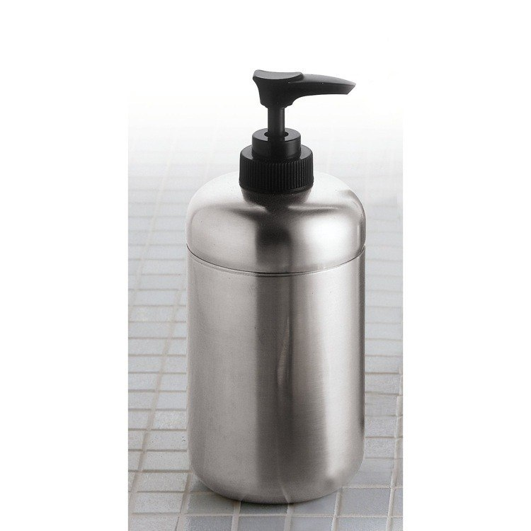GEDY 1180-38 MARGOT SATIN STAINLESS STEEL SOAP DISPENSER