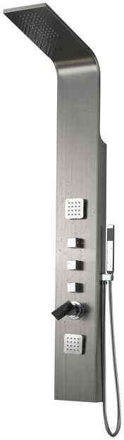 American Imaginations AI-11041 Stainless Steel Shower Panel in Chrome