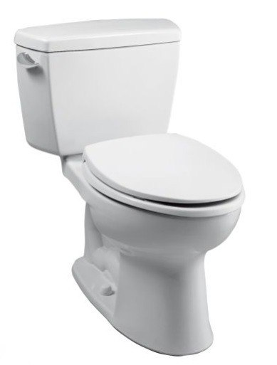 TOTO CST744EF.10#01 ECO DRAKE TWO PIECE ELONGATED 1.28 GPF TOILET WITH E-MAX FLUSH SYSTEM