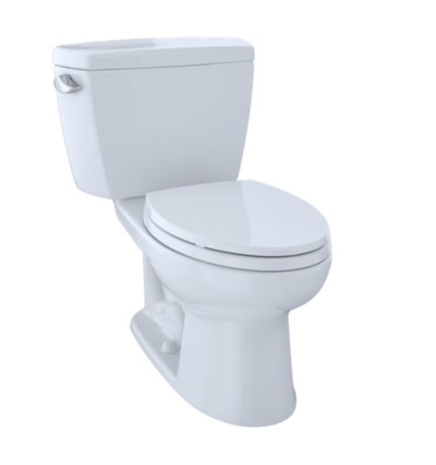 TOTO CST744SF.10#01 DRAKE TWO-PIECE ELONGATED TOILET, 1.6 GPF