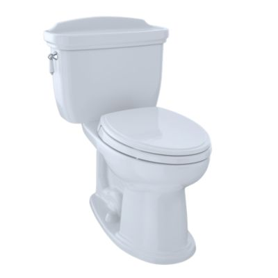 TOTO CST754EF ECO DARTMOUTH TWO PIECE ELONGATED 1.28 GPF TOILET WITH E-MAX FLUSH SYSTEM