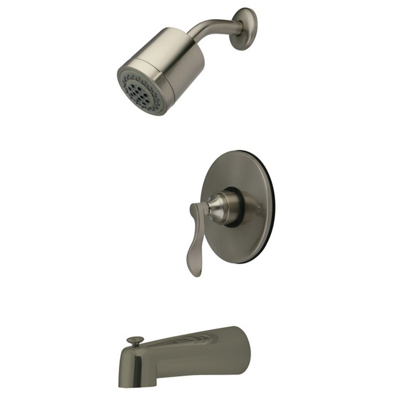 KINGSTON BRASS KB6698DFL NUFRENCH TUB AND SHOWER FAUCET