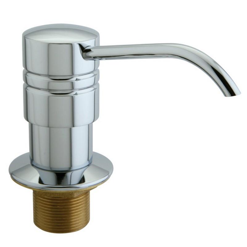 KINGSTON BRASS SD261 STRAIGHT NOZZLE METAL SOAP/LOTION DISPENSER