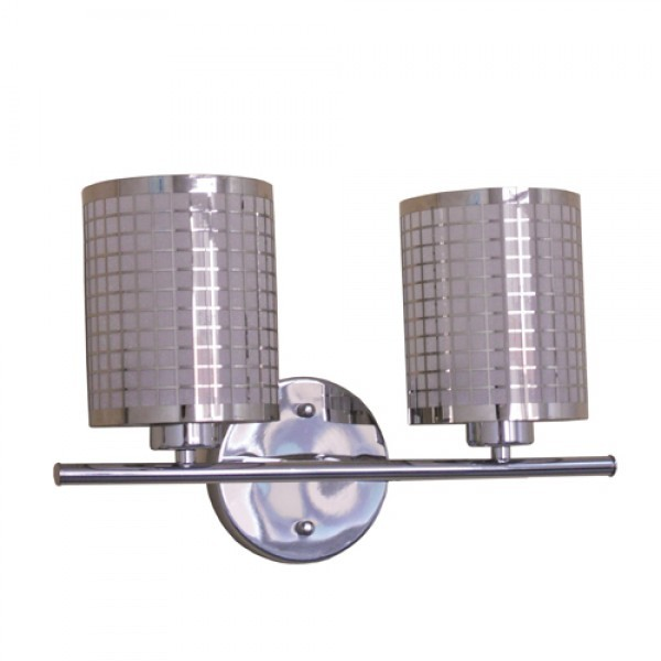 YOSEMITE 212-2V-CH SUMMER HILL COLLECTION TWO LIGHT VANITY