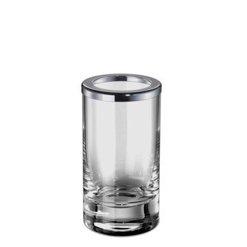 WINDISCH 91062 ADDITION PLAIN PLAIN CRYSTAL GLASS TOOTHBRUSH HOLDER