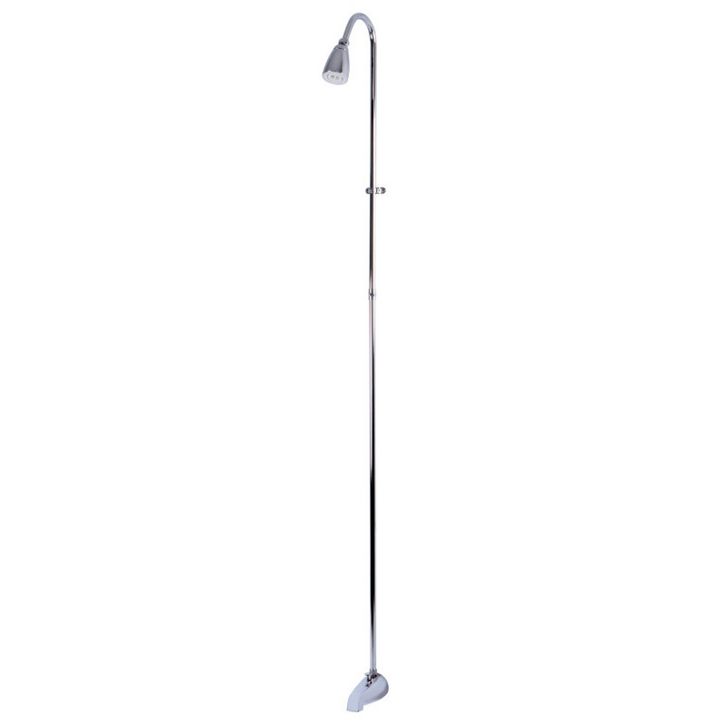 KINGSTON BRASS CC3111 VINTAGE CONVERT TO SHOWER UNIT IN POLISHED CHROME