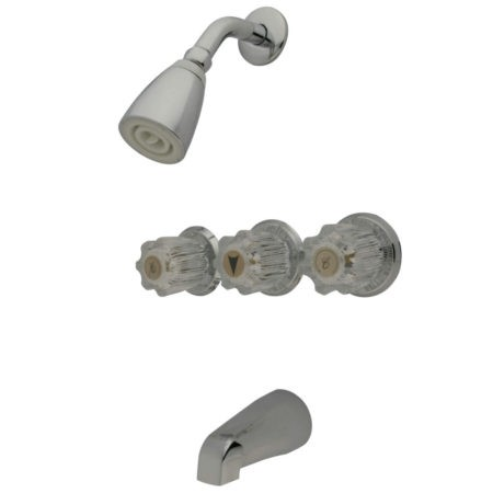 KINGSTON BRASS KB13 TUB AND SHOWER FAUCET