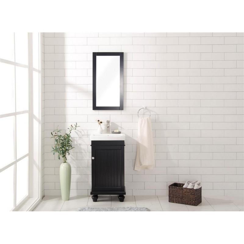 Legion Furniture Wlf9318 E 18 Inch Espresso Sink Vanity In Espresso
