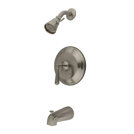 KINGSTON BRASS KB3638HLT TUB AND SHOWER TRIM ONLY IN BRUSHED NICKEL
