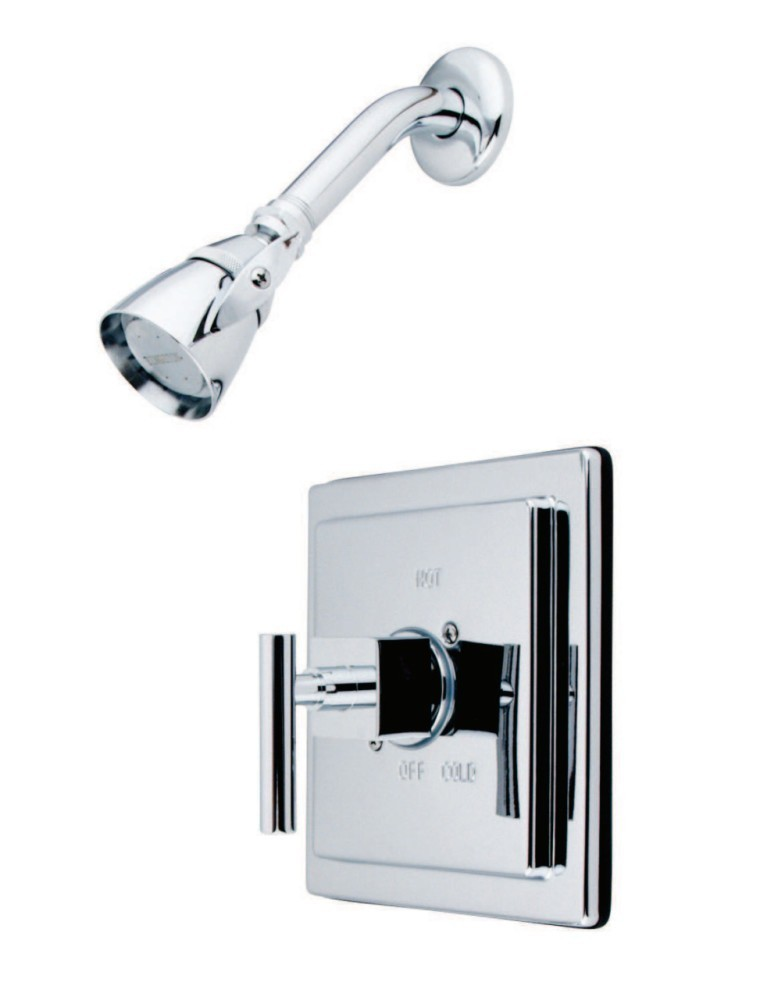 KINGSTON BRASS KB8651CQLTSO SHOWER FAUCET TRIM ONLY IN POLISHED CHROME