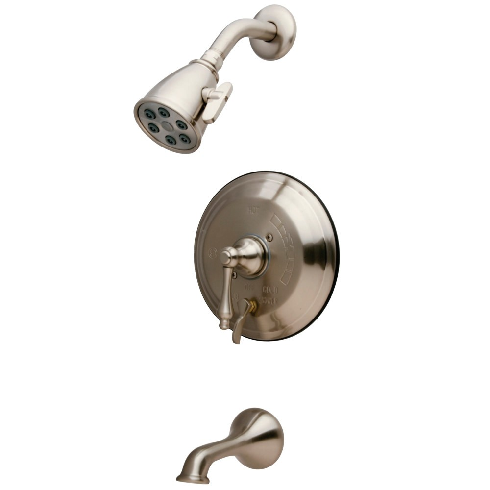 KINGSTON BRASS VB363AL TUB AND SHOWER FAUCET