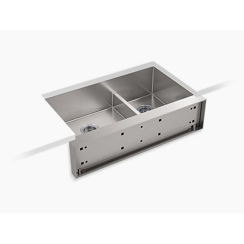 Kohler K 22569 Na Tailor 35 1 2 X 21 Undermount Large Single Bowl Farmhouse Kitchen Sink K 22569 Na K22569na