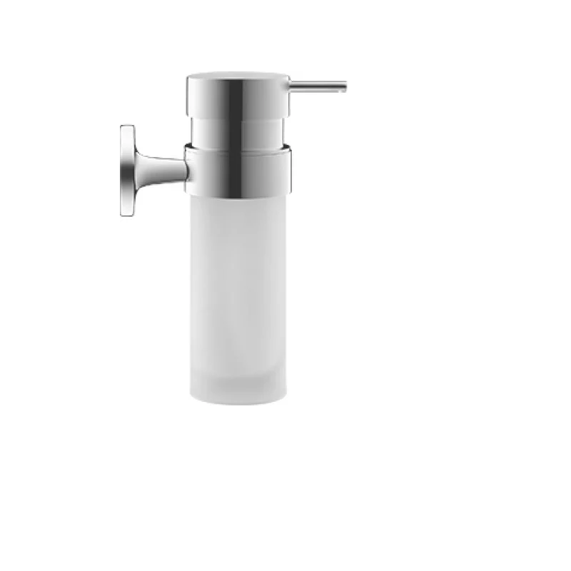 DURAVIT 009935 STARCK T 2-3/8 X 6-7/8 INCH WALL-MOUNTED FROSTED GLASS SOAP DISPENSER
