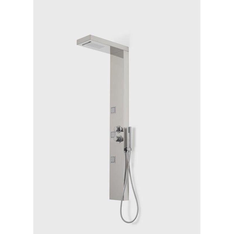 A&E BATH AND SHOWER SP5 VISTA V SHOWER PANEL CHROME FINISH