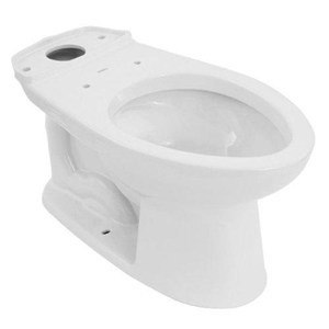 toto c744ef1001 cotton drake elongated toilet bowl with universal height and 10