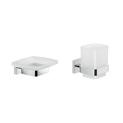 GEDY ELBA1600 ELBA MODERN BATHROOM ACCESSORIES SET