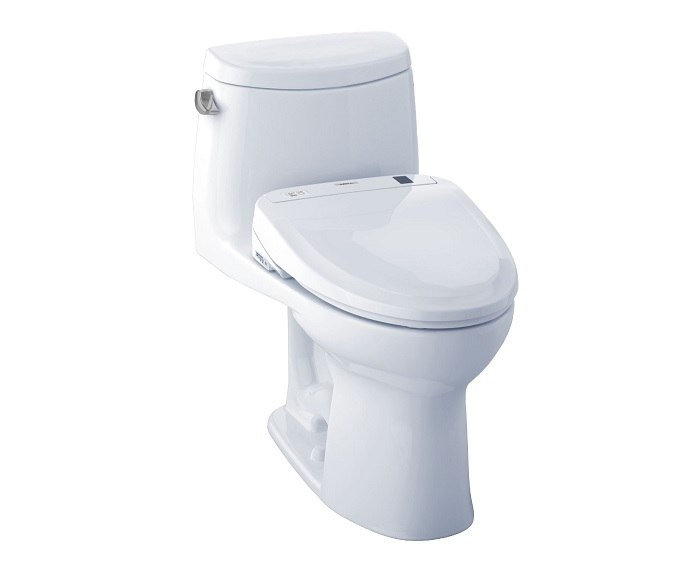 TOTO MW604574CEFG#01 UltraMax II Connect+ S300e One-Piece Toilet, 1.28 GPF with SanaGloss
