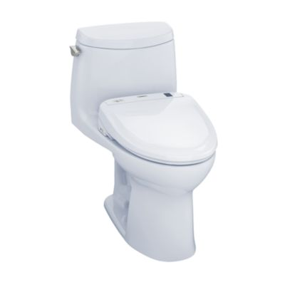 TOTO MW604574CUFG#01 ULTRAMAX II 1G CONNECT+ S300E ONE-PIECE TOILET, 1.0 GPF WITH SANAGLOSS