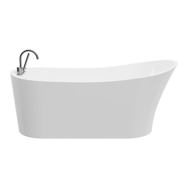 A&E BATH AND SHOWER BT-1096-59-NF PARIS-59 INCH FREESTANDING TUB NO FAUCET