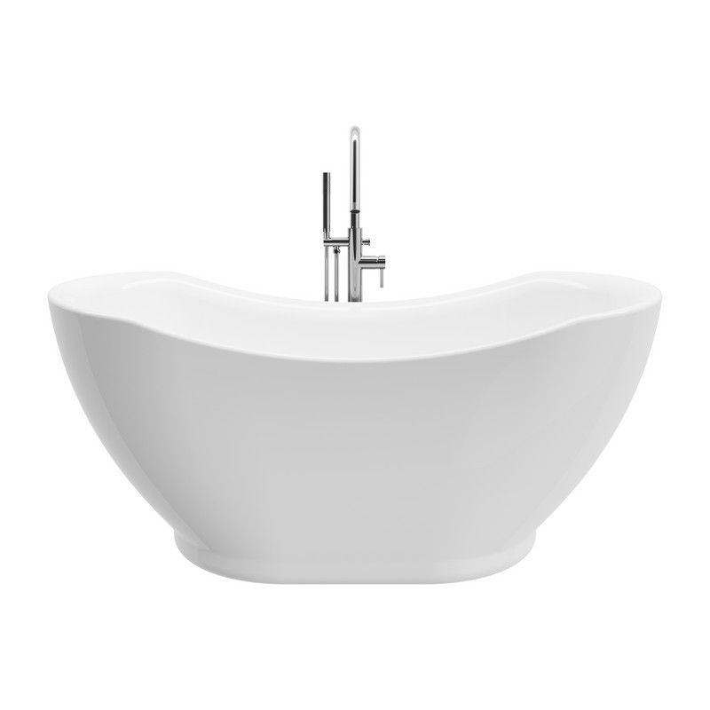 A&E BATH AND SHOWER BT-772 SALACIA 65 INCH FREESTANDING TUB WITH FAUCET