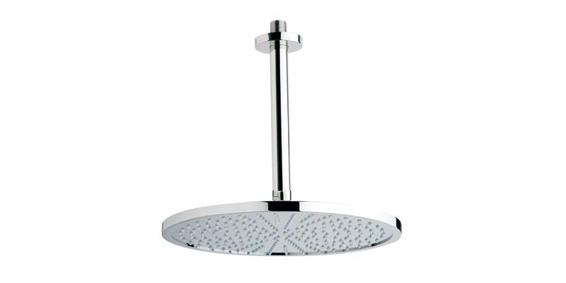 PHYLRICH K832 CEILING MOUNT SINGLE-FUNCTION ROUND SHOWER HEAD WITH SHOWER ARM