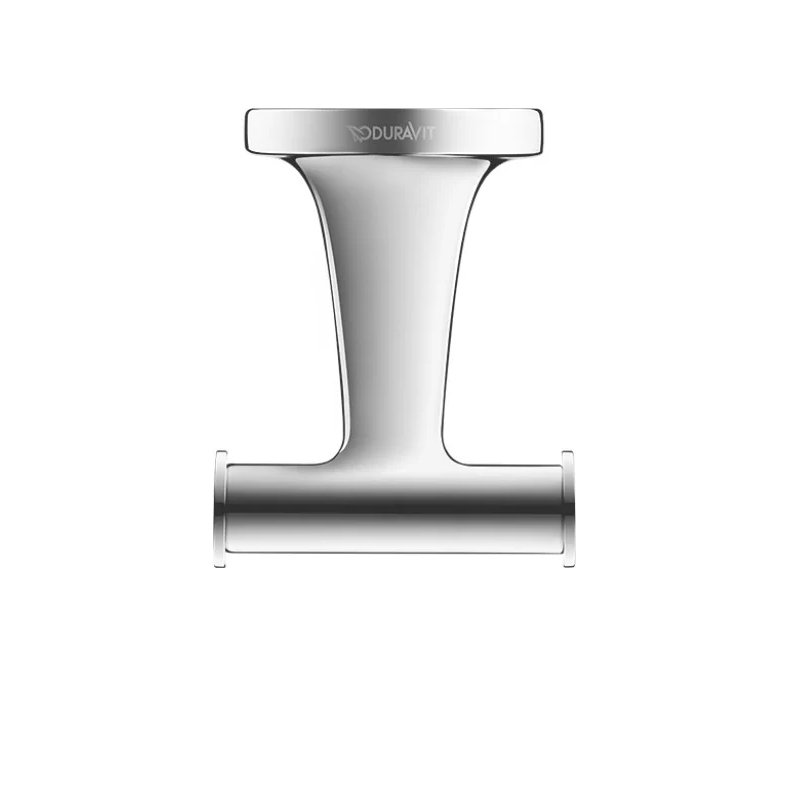 DURAVIT 009930 STARCK T 2 3/8 INCH DOUBLE TOWEL HOOK
