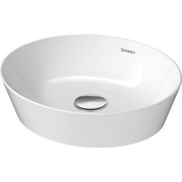 Duravit 232840 Cape Cod 15 3 4 Inch Washbowl No Faucet Holes 2328400000 23284000001 2328402600 23284026001