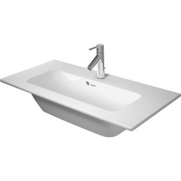 DURAVIT 234283 ME BY STARCK 32-5/8 INCH WALL-MOUNTED WASHBASIN COMPACT WITH OVERFLOW