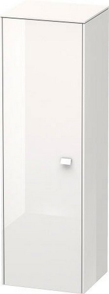 DURAVIT BR1310 BRIOSO 16 1/2 W X 52 3/8 H INCH SEMI-TALL-CABINET WITH CHROME HANDLE