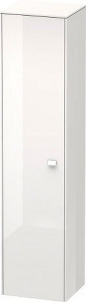DURAVIT BR1330 BRIOSO 16 1/2 W X 69 5/8 H INCH TALL-CABINET WITH CHROME HANDLE