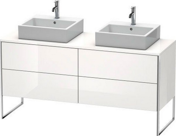 DURAVIT XS4927 XSQUARE 63 INCH FLOOR-STANDING VANITY UNIT FOR CONSOLE