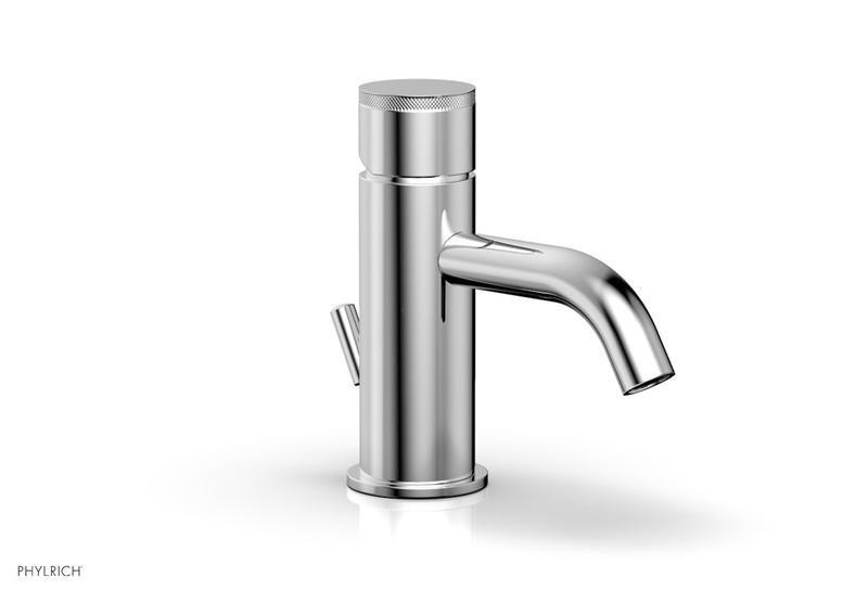 PHYLRICH 230-06 BASIC II SINGLE HOLE BATHROOM FAUCET WITH KNURLED HANDLE