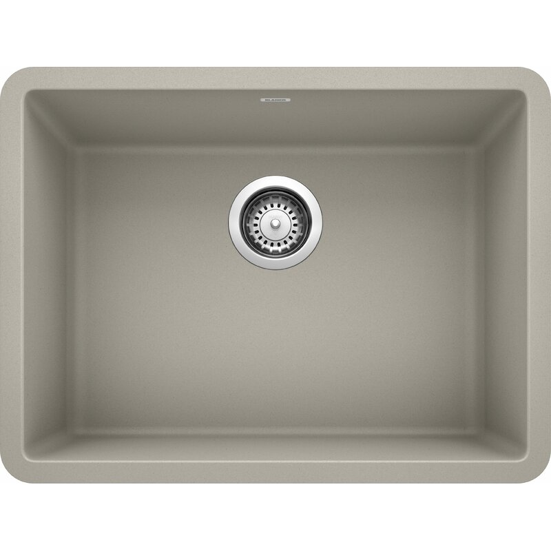 BLANCO 442889 PRECIS 24 INCH SINGLE BOWL IN CONCRETE GRAY