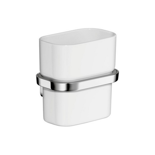 HANSGROHE 42434000 AXOR URQUIOLA TUMBLER WITH HOLDER IN CHROME