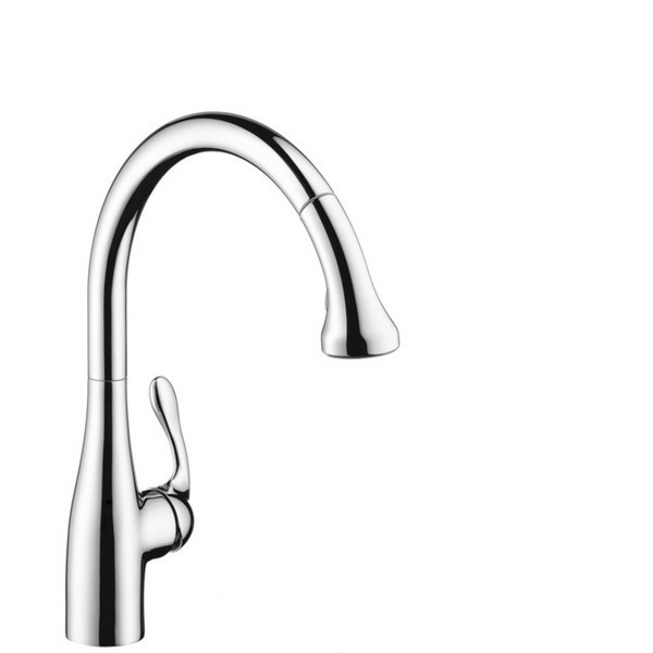 HANSGROHE 06460 ALLEGRO E GOURMET SEMIPRO PULLOUT KITCHEN FAUCET