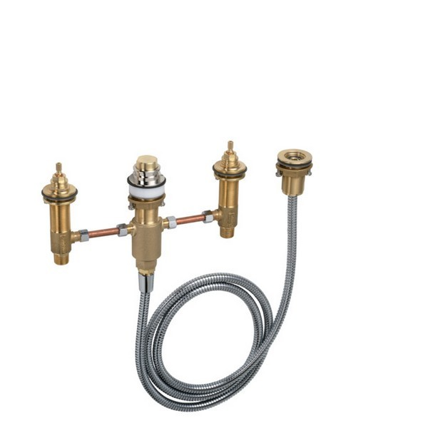 HANSGROHE 06646000 ROUGH, 4-HOLE TUB FILLER