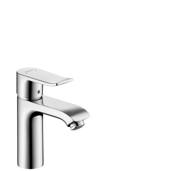 HANSGROHE 31204001 METRIS 110 SINGLE-HOLE FAUCET WITHOUT POP-UP