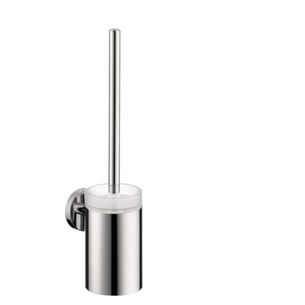 HANSGROHE 40522 E & S ACCESSORIES TOILET BRUSH W/ HOLDER