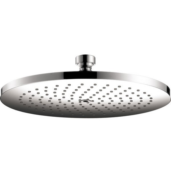 HANSGROHE 26071 AXOR STARCK 240 1-JET 9-1/2 INCH SHOWERHEAD, 1.8 GPM