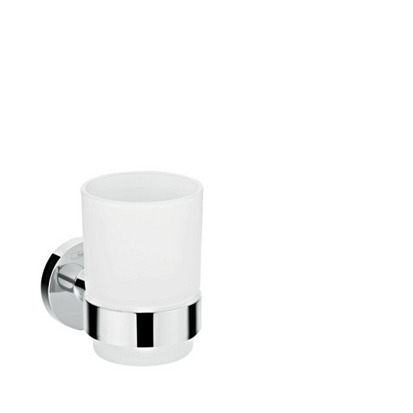 HANSGROHE 41718000 TOOTHBRUSH TUMBLER IN CHROME