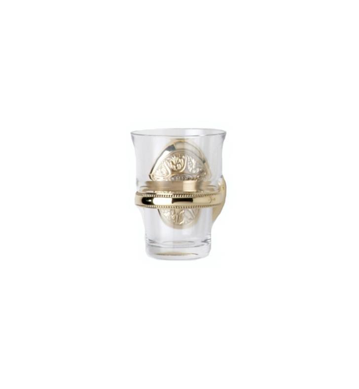 PHYLRICH KA30 3 1/8 INCH WALL MOUNT GLASS HOLDER