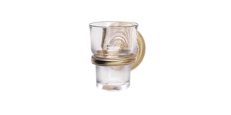 PHYLRICH KE30 3 1/4 INCH WALL MOUNT GLASS HOLDER