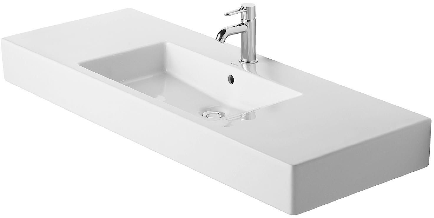 Duravit 03291200001 Vero 49-1/4 x 19-1/4 Inch Furniture Washbasin ...
