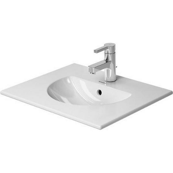 Duravit 0499530000 Darling New 20 7 8 X 16 1 2 Inch Drop In Bathroom Sink With Overflow Duravit 04995300001 Darling